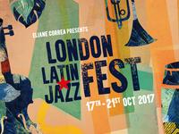 London latin jazz festal visual art