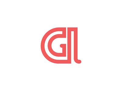 A + G Monogram [one line] logo one line monogram ag