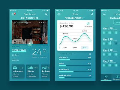 Flavor - Smart Home App flavor stats smart home ios