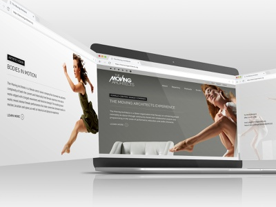 The Moving Architects Redesign design wordpress design website wordpress webdesign mockup freelance design