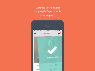 New app Viadeo : Let's meet