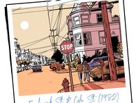 Abandoned comic project