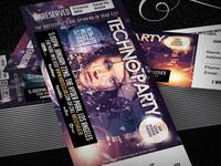 Club, Fashion & Event Multipurpose Tickets V.2