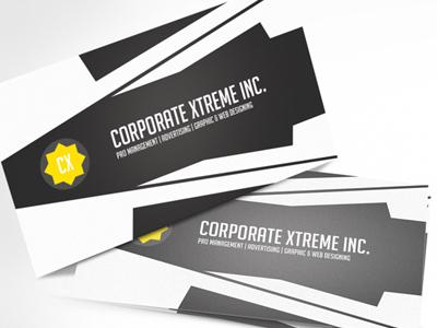 Creative Corporate Business Card V.1