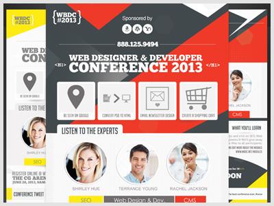 Web Service & Conference Flyer