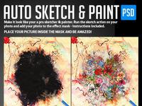 Auto sketch paint prev