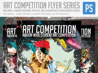 Art competition flyer prev