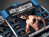 Health & Fitness Performance Series Flyer