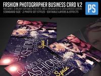 Fashion photographer biz card prev