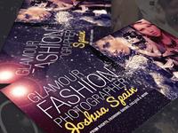 Fashion Photographer Business Card V2