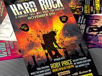 Hard Rock Concert Event Ticket/Show Pass