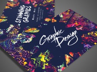 Artistic business card designs on dribbble artistic business card colourmoves