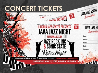 Concert Event Tickets gate passes free graphicriver flyers free flyer templates flyers flyer template event tickets event ticket designs event passes event flyers concerts event tickets concert gate pass templates admission passes