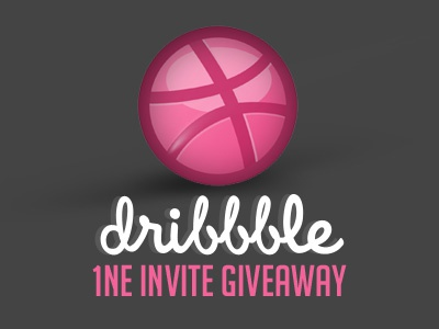 1 Dribbble Invite Giveaway invite dribbble