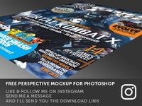 Photoshop Freebie - Perspective mockup