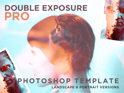 Double Exposure Pro Photoshop camera images creative graphics colorful professional cinematic photo cameras effects photoshop exposure