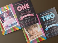 Kids & Baby Birthday Invitation