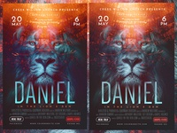 Church Themed Event Poster - Daniel