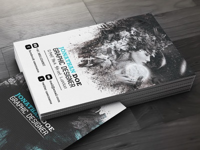 Creative Designer Business Card artistic artistic business card business business card calling card canvas colorful corporate creative creative business cards designer elegant graphic artistic graphic designer identity material modern name card promotional stylish texture trading card visiting card