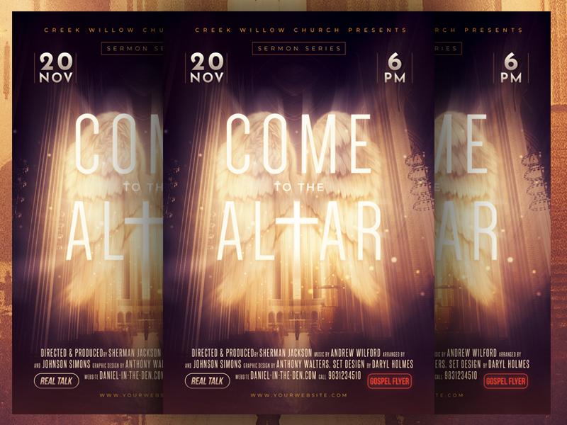 Poster Design - The Altar