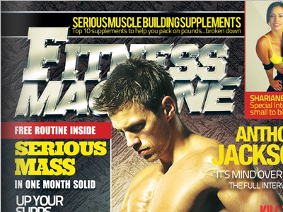 fashion fitness magazine cover psd templates by sherman jackson
