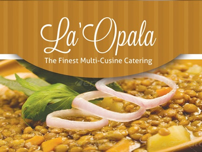 catering flyer template