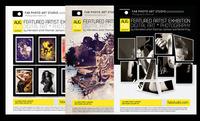 Art Photo Studio Flyer PSD Template