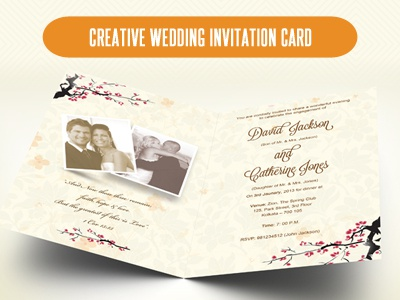 Creative wedding invitation card order of service by sherman download here httpgraphicriveritemcreative wedding card order of service psd3215020 stopboris Choice Image