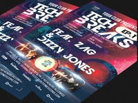 Tech Breaks Flyer Template