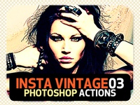 INSTA Vintage Photoshop Actions (ATN)#2