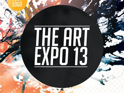 art expo art show event flyer template psd by sherman jackson