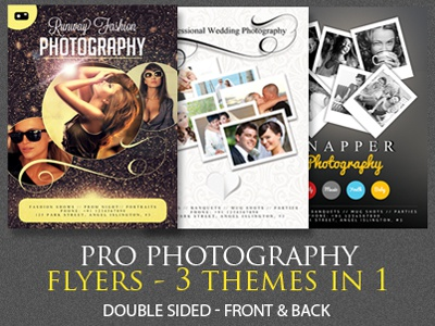 Photography Flyer Template   Free Psd Format Download