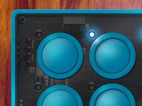 MidiFighter iPad App
