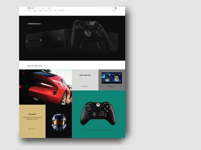 Xbox Gold Members Area
