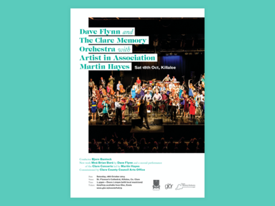 Clare Orchestra Poster