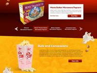 Cousin Willie's Popcorn Website