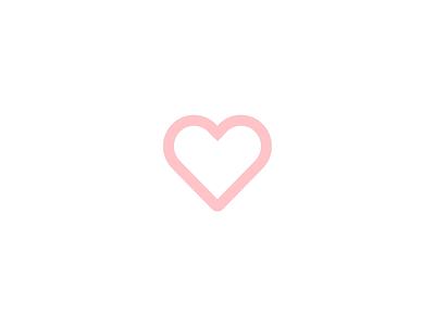 02 - Like Button #21daysofIxD ui principle motion microinteraction ixd interaction like heart fav button animation 21daysofixd