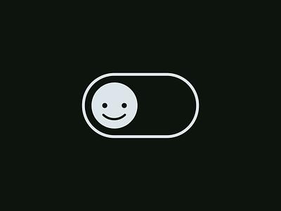 04 - Toggle #21daysofIxD happy sad on off ui toggle principle motion microinteraction ixd interaction button animation 21daysofixd