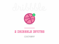 Dribbble Invites Giveaway!!!