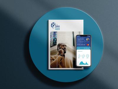 Sphere Capital ui app logo illustration vector minimal flat icon branding design branding design