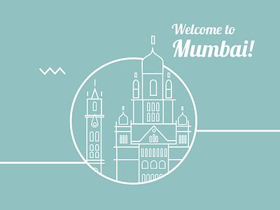 Dribble Mumbai illustration