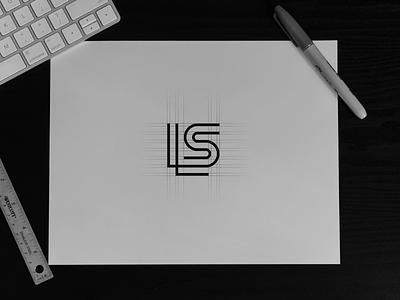 LS Logo concept monogram luxury graphic design logo