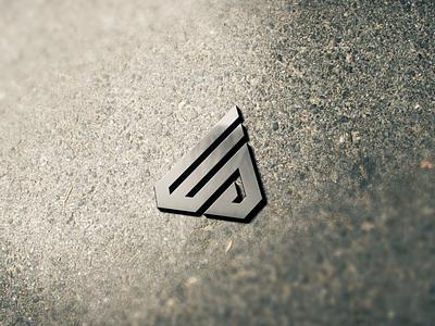 WD MONOGRAM LOGO design branding luxury clothing apparel monogram graphic design logo