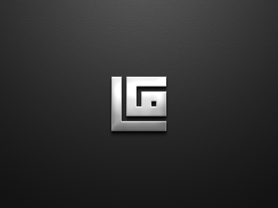 LG MONOGRAM LOGO design branding luxury clothing apparel monogram logo graphic design