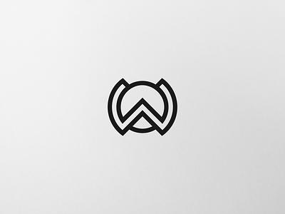WO LOGO CONCEPT watch logoideas logos uae usa stationary brandidentity design branding luxury clothing apparel monogram logo graphic design