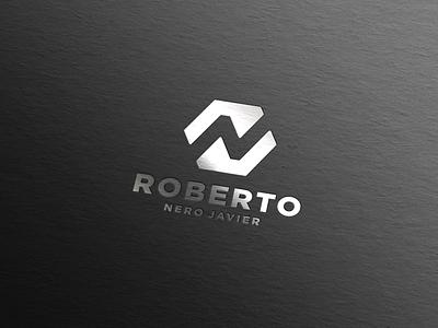 RNJ LOGO DESIGN logomark logodesign qatar dubai uae newyork usa stationary brand brandidentity design branding luxury clothing apparel monogram logo graphic design