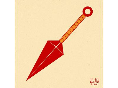 Kunai japan japanese art illustration design vector graphic design ninja kunai