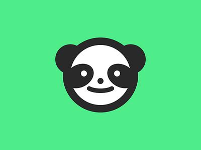 Panda panda mascot panda mascot branding logo