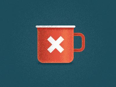 Seamless & Steadfast illustration red mug cup