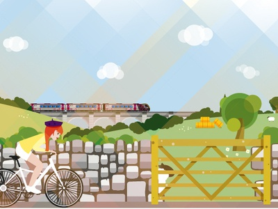Countryside illustration